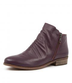 Split New Purple Leather