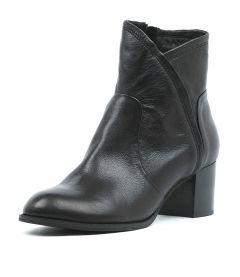 Slack Blk Heel Leather