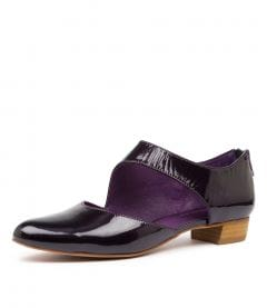 EARHART PURPLE PATENT LEATHER