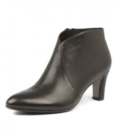 Templess Black Leather