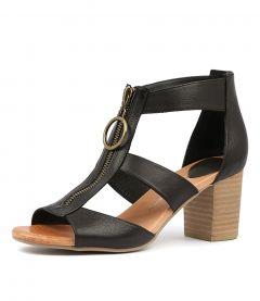 Saritas Black Leather
