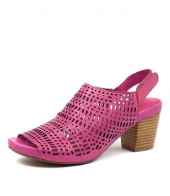 ZARIAH FUCHSIA LEATHER