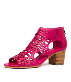 BORIS DJ FUCHSIA LEATHER