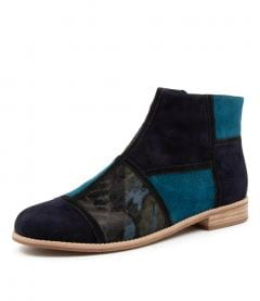 ABBEYE DJ NAVY MULTI SUEDE