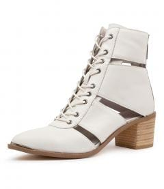 HARRISSA DJ WHITE LEATHER