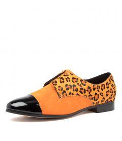 Jarek Dj Black Orange Leopard Multi
