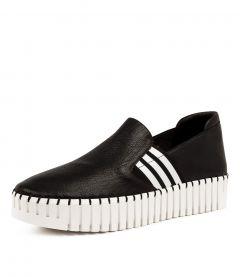 Becca Dj Black Black&white Leather Elastic