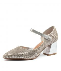 MACEO SILVER CUT LEATHER