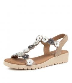 MURMUR DJ STONE METALLIC MULTI NUBUCK LEATHER