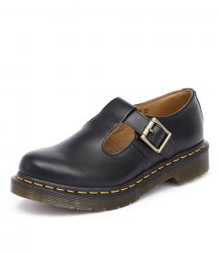 POLLEY MARY JANE BLACK SMOOTH LEATHER