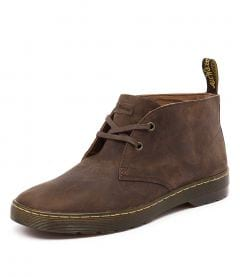 CABRILLO 2 EYE DESERT BOOT GAUCHO LEATHER