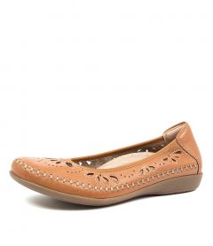 AZZA SAND BROWN LEATHER