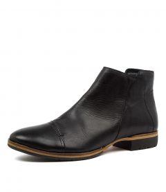 Gaio Black Leather