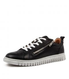 CLARENCE BLACK LEATHER