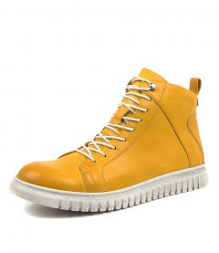 CLARRIE MUSTARD LEATHER