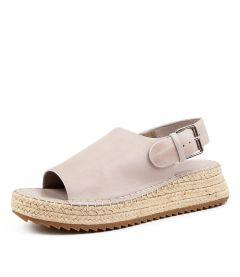 New Nude Zula Natural Raffia Womens Shoes Resort Sandals