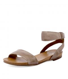 LAUREN W TAUPE LEATHER