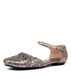ESME PEWTER SMOOTH LEATHER