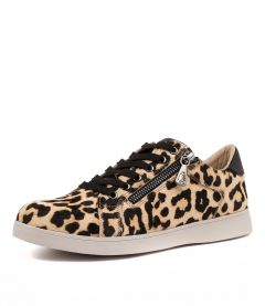 MIMOSA LEOPARD LEATHER