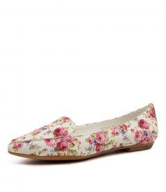 Breane White Floral Smoot