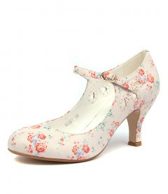 MENDY WHITE DITZY FLORAL