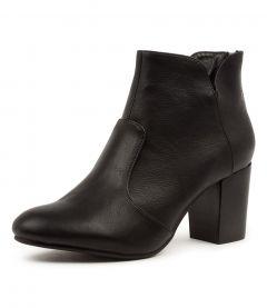 Mahlon Black Black Heel Smooth