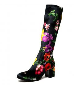 NEOLAS BLACK LILY STRETCH VELVET