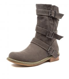 AMAZON TAUPE MICROSUEDE