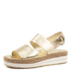 ATHENS PALE GOLD LEATHER
