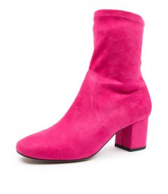 CARRIE FUCHSIA MICROSUEDE