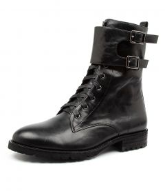 RIDDLE BLACK LEATHER