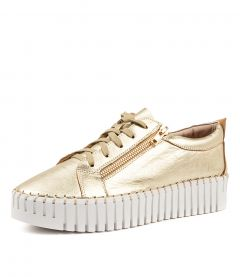 BRAELYN PALE GOLD LEATHER