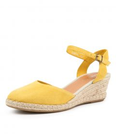 RENEE YELLOW SUEDE
