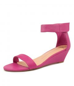 MARSY FUCHSIA LEATHER