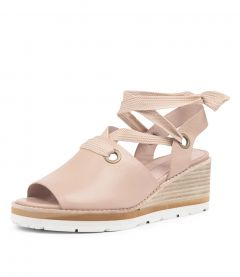 NAYLA DK NUDE LEATHER