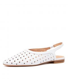 GESTERS MO WHITE LEATHER