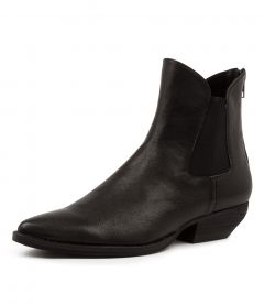 PREOTY MO BLACK BLACK HEEL LEATHER