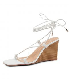 ALYOOP WHITE-NATURAL HEEL
