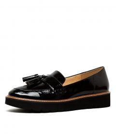 AUGUST N BLACK PATENT LEATHER
