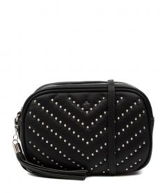 GRACIE BLACK STUDDED