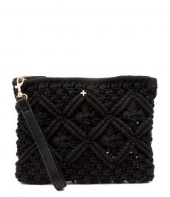 AVALON BLACK CROCHET
