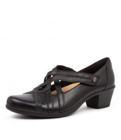 Tower Black Leather