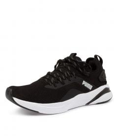SOFTRIDE RIFT KNIT BLK-WH