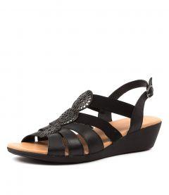 Joda Black Leather-elas