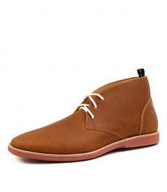 CHUKKA M TOBACCO LEATHER