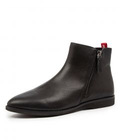 MADISON SIDE ZIP BOOT BLK