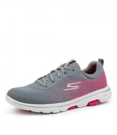 GO WALK 5-EXOTIC GRY-PINK