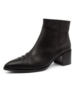 WYLIE BOOT BLACK LEATHER