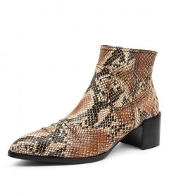 WYLIE BOOT SNAKE LEATHER