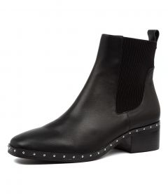 JERRY BOOT BLACK LEATHER